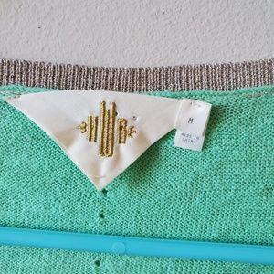 Anthropologie Sweaters - Anthropologie HWR Monogram Cardigan Sweater